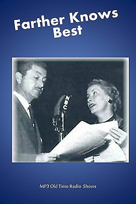 Father Knows Best  (OTR) 65  Old Time Radio Shows MP3 on a single