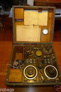 WW1-WIRELESS-SET-1917-MARK-III-SHORT-WAVE-RADIO-TUNER-WW1-RADIO