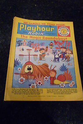 """PLAYHOUR & ROBIN - (1972) - Date 29/07/1972 - Inc """"The Magic Roundabout"""""""