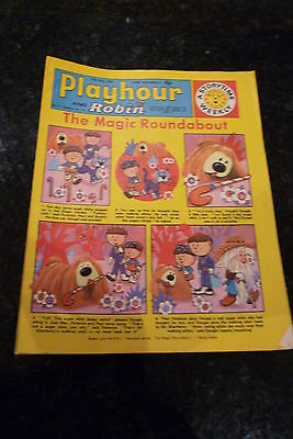 """PLAYHOUR & ROBIN - (1972) - Date 27/05/1972 - Inc """"The Magic Roundabout"""""""