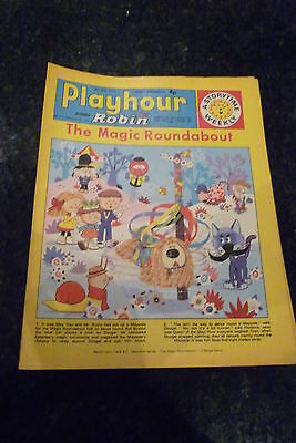 "PLAYHOUR & ROBIN - (1972) - Date 06/05/1972 -  Inc ""The Magic Roundabout"""