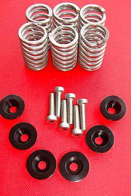 Ducati 748 Clutch Spring Alloy Collar Cap Kit/ Black Cap Kit
