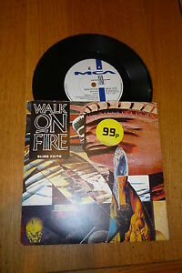 WALK-ON-FIRE-Blind-Faith-1990-UK-2-track-7-vinyl-single