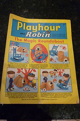 "PLAYHOUR & ROBIN - (1969) - Date 22/02/1969 -  Inc ""The Magic Roundabout"""