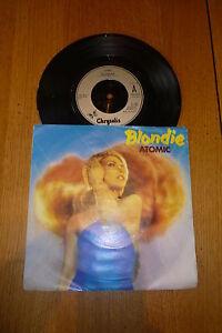 BLONDIE-Atomic-1980-UK-Chrysalis-label-vinyl-7-Single