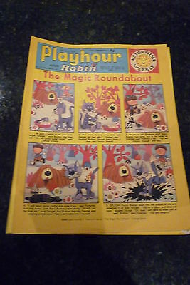 """PLAYHOUR & ROBIN - (1972) - Date 20/05/1972 -  Inc """"The Magic Roundabout"""""""