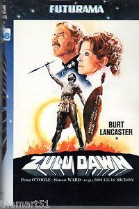 Zulu-Dawn-1980-VHS-Futurama-Video-1a-Ed-Burt-Lancaster-Peter-O-039-Toole