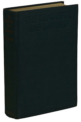 The Beautiful And Damned By F  Scott Fitzgerald   First Edition 1922   1St State