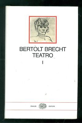 BRECHT BERTOLT TEATRO EINAUDI 1974 I MILLENNI 4 VOLUMI A CURA EMILIO CASTELLANI