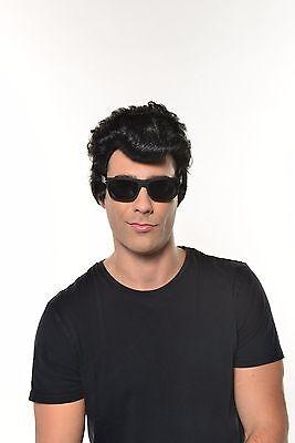 Halloween Elvis Presley Grease Rock King Wig - 515 Halloween