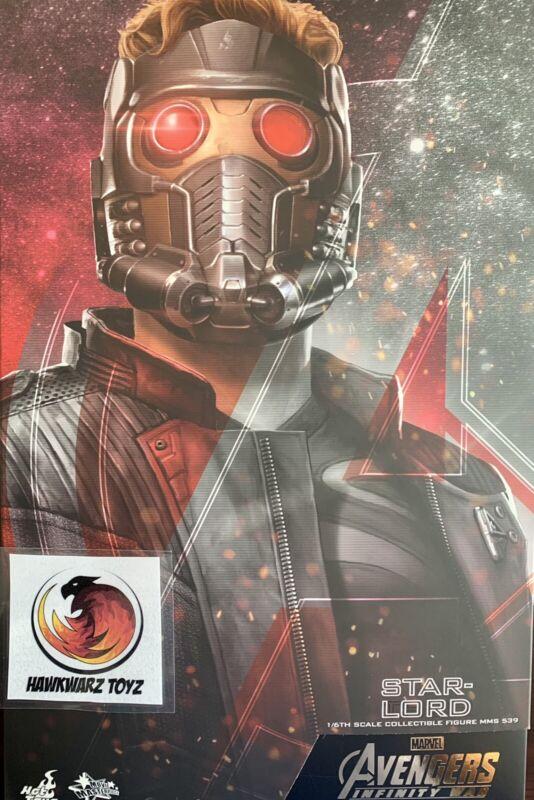Hot Toys Marvel Infinity War Star Lord MMS539 1/6 Sideshow Disney Chris Pratt