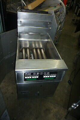 Pitco 75 Lbs Nat. Gas Fryer Solid State Unit Ssteel Unit 900 More Items