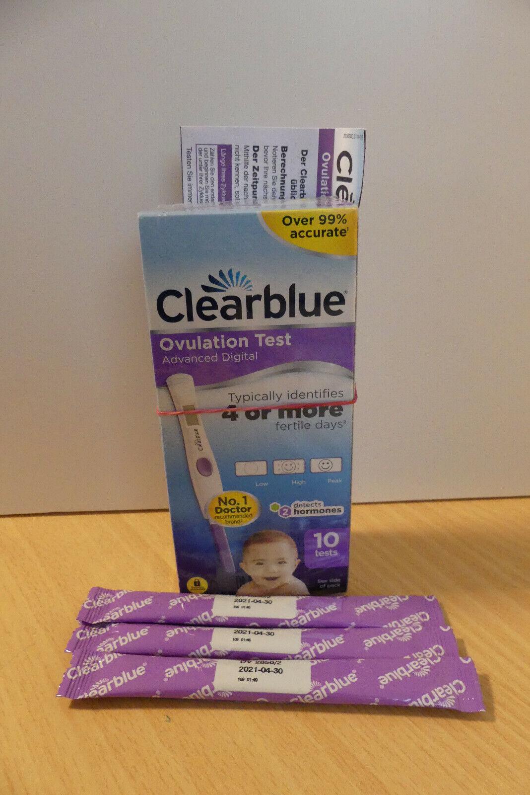 Clearblue Ovulationstest Digital mit 13 Teststreifen, Kinderwunsch, Baby