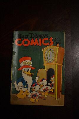 WALT DISNEY'S COMICS AND STORIES #28 FAIR 1.0