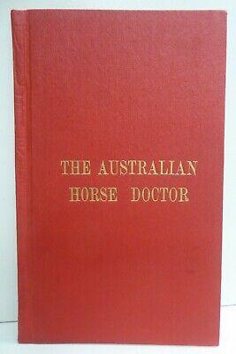 VINTAGE BOOK THE AUSTALIAN HORSE DOCTOR T.O'DEA SHARPLES ADELAIDE