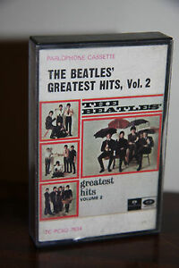 Rare-Australian-The-Beatles-Greatest-His-Vol-2-Cassette-Tape-Parlophone