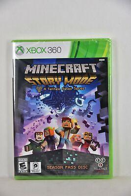 NEW XBox 360 Minecraft: Story Mode A (US ENGLISH, NTSC) - Dispatch NOW!