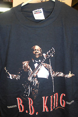 BB King Concert T-Shirt, Black, Sized Medium BRAND NEW FACTORY SEALED