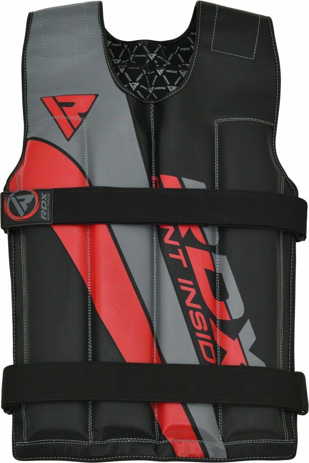 RDX 18 22 LB Weighted Vest Adjustable Training Fitness Worko