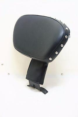 Adjustable & UP DOWN Driver Stud Backrest 4 Harley Fatboy Heritage Softail 07-18