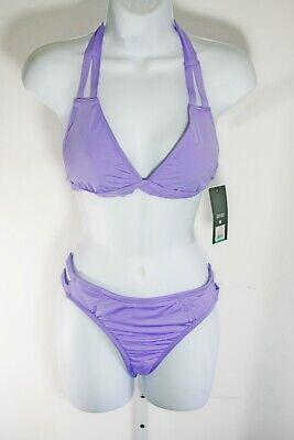 Mossimo Bikini Swimsuit - Mossimo Swimsuit Bikini Lavender Purple Top Bottom Set Mix Match Padded M L XL