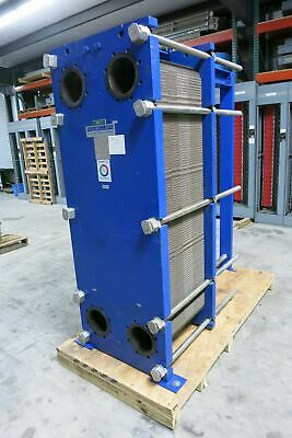 Paul Mueller Co 1700 Sqft 316l Ss Plate Frame Heat Exchanger At80 B-20 150psi