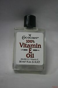 COCOCARE Vitamin E OIL 100% Pure 1 oz 28,000 I.U.