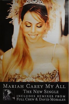 Mariah Carey 20x30 My All Music Promo Poster Butterfly