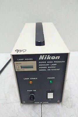 Nikon Model Hb-10101af Super High Pressure Mercury Lamp Power Supply