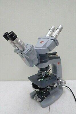 American Optical Ao Spencer Dual Head Microscope W 5 Dark Phase Objectives