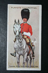 Royal-Scots-Greys-Review-Order-Original-1912-Vintage-Card