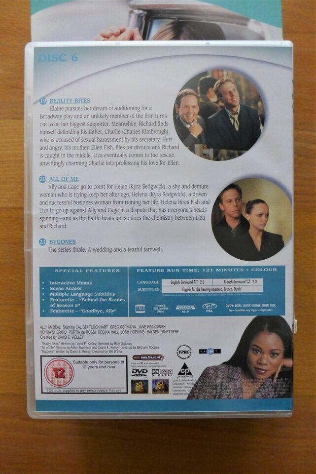 DVD Box Set Ally McBeal Staffel 5.2 englisch französisch 90er in Neuhausen-Nymphenburg - Neuhausen