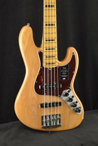 2020 Fender American Ultra Jazz Bass 5 String Electric Guitar Hard Case Included - $1,550.00