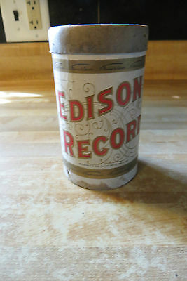 Thomas A.Edison Records empty advertising cylendar tube,National Phonograph co