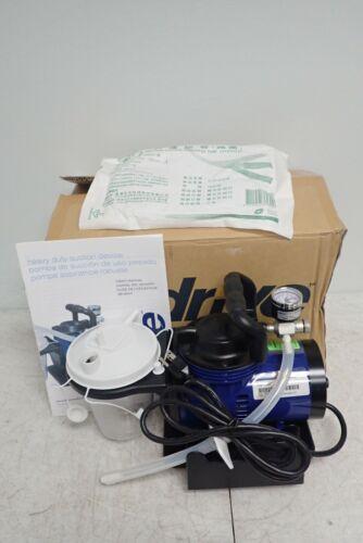 NEW Drive Medical 18600 Suction Pump Portable Home Heavy Duty Aspirator Machine