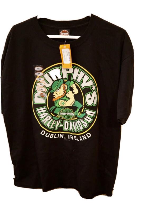 Murphys Harley Davidson Size Xl Dublin Ireland T-shirt