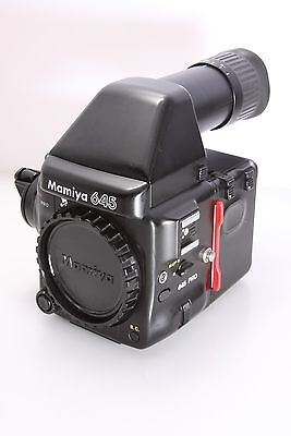 Mamiya 645 Pro Body Only With Prism Finder And 120 Film Back