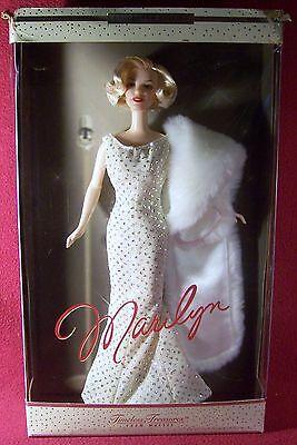 Mattel Collectors Edition Timeless Treasures Marilyn Monroe Barbie Doll NRFB
