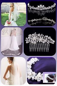 Receive a FREE hair accessory with veil purchase this week!