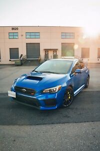2018 Subaru WRX STi Sport-tech (Lease Takeover)