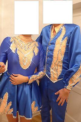 Tanzpaar Gardekostüm Major und Tanzmariechen Erwachsene Tanz Uniform