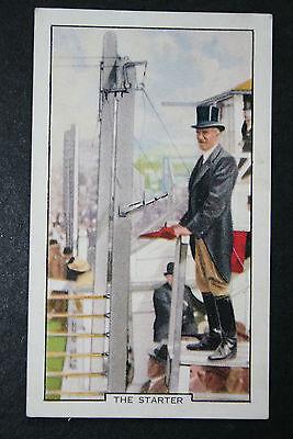 Horse Racing  Jockey Club Starter  Original 1930's Vintage Card