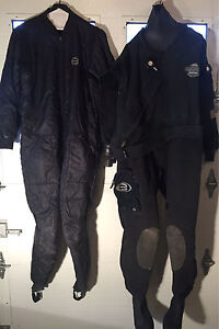 Bare Trilam HD dry suit + Extras