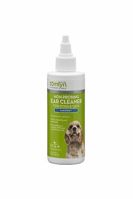 (Tomlyn Non-Probing Ear Cleaner for Dogs and Cats, (Earoxide) 4 oz)