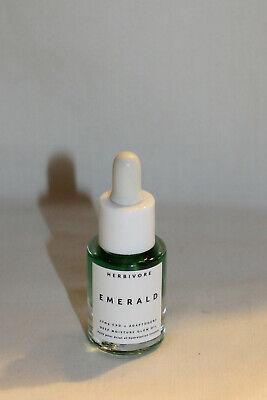 Herbivore Emerald Deep Moisture Glow Oil - approx .17 oz - New