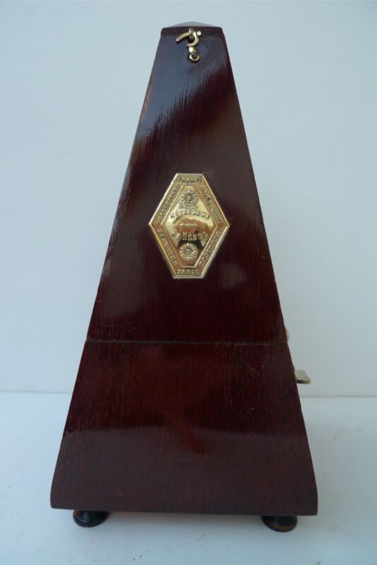 Antique Metronome J.T.L. De Maelzel made in France With Bell