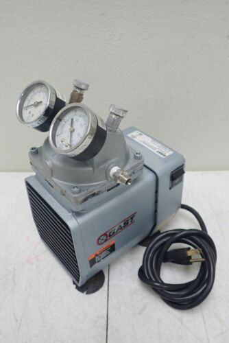 GAST Model DOA-P704-AA Vacuum Pump, 115V 60Hz 4.2A