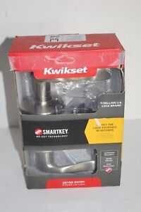 Kwikset Keyed Entry Lever Door Lock SmartKey Satin Nickel 740TNL 15 SMT CP K4
