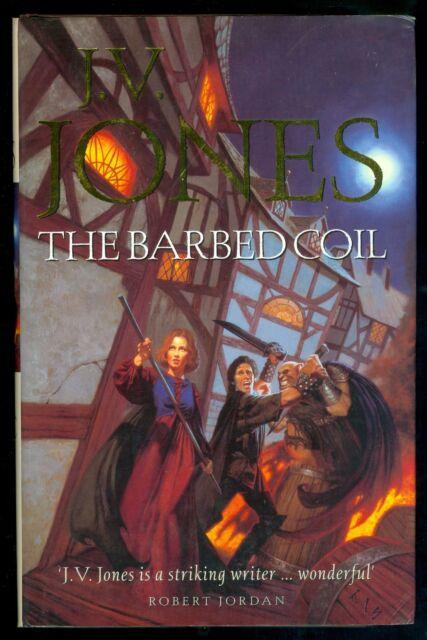J V JONES - THE BARBED COIL - 1ST UK HARDBACK