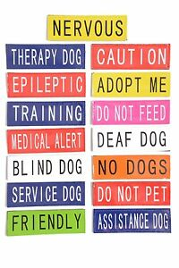 Patch-Patches-For-Tactical-Dog-Harness-Warning-Labels-Canine-Harness-K9-Harness